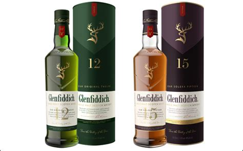 glenfiddich updates packaging design