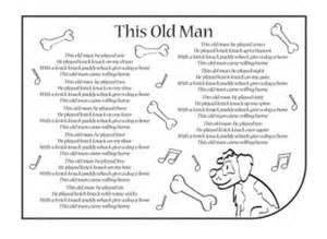 this old man lyrics ichild
