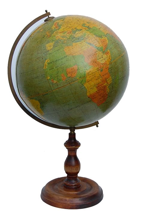 vintage terrestrial world globe for sale antiques com