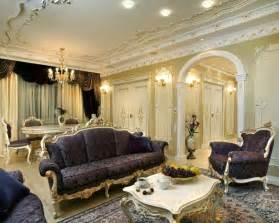 d 233 co baroque du salon pour un int 233 rieur luxueux