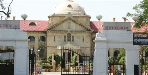 allahabad high court lucknow bench judges allahabad high court restrains up government from issuing