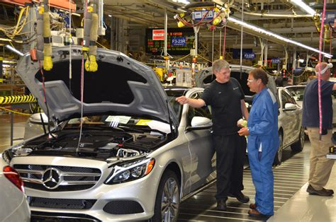 Mercedes In Alabama by Mercedes Starts C Class Production At Alabama Plant