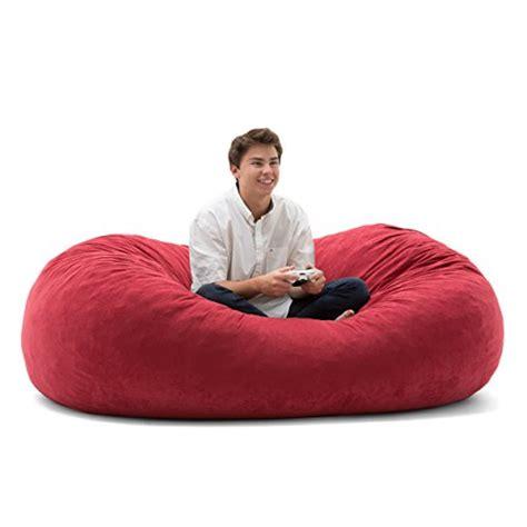 comfort research 6 foot xl fuf big joe xl fuf in comfort suede sierra red in the uae