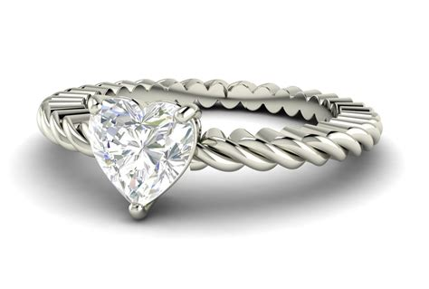 Wedding Bands With Hearts by Engagement Rings Shaped Wedding Rings For