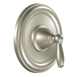 shower valve and trim moen brushed nickel posi temp valve trim overstock