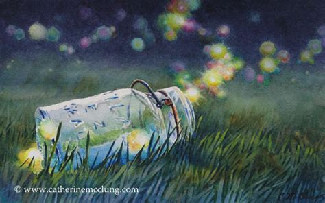 Summer Lights by Catherine Mcclung Original Paintings