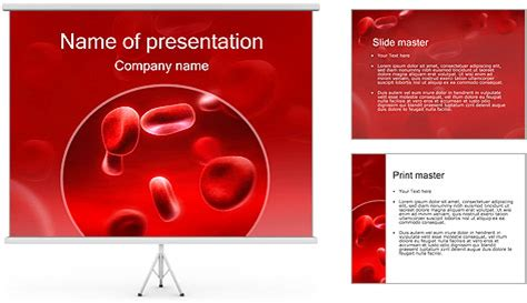 red blood cells powerpoint templates red blood cells red blood cells powerpoint template backgrounds id