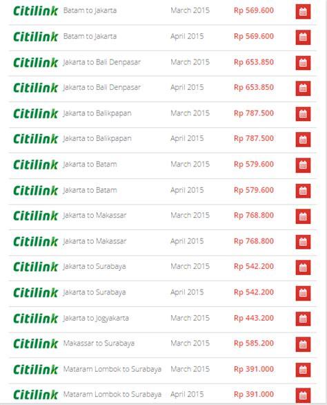 Promo Paling Murah New Chromecast 2 2015 Promo promo tiket pesawat murah citilink denpasar 2 5 maret 2015 airpaz