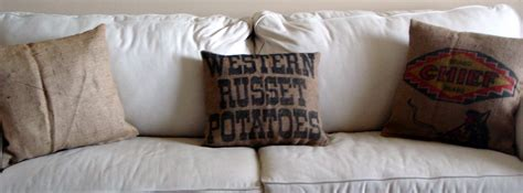 Potato Sack Pillows by Potato Sack Pillows Teodoro