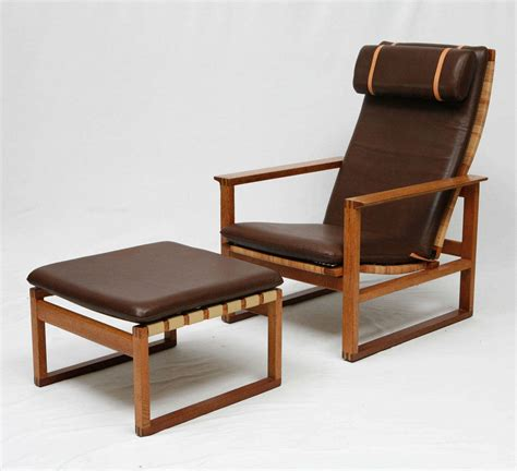 borge mogensen lounge chair borge mogensen lounge chair and ottoman at 1stdibs