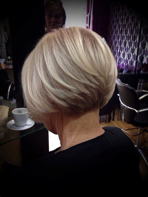 back glimpses of short haircuts 25 best images about classic graduated bob on pinterest