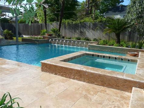 pool and spa designs pool with spa designs geometric pool and jacuzzi