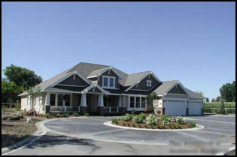 Ranch House Plans With 2 Master Suites by Luxury House Plan 2 Bedrms 2 Baths 4000 Sq Ft 115 1156
