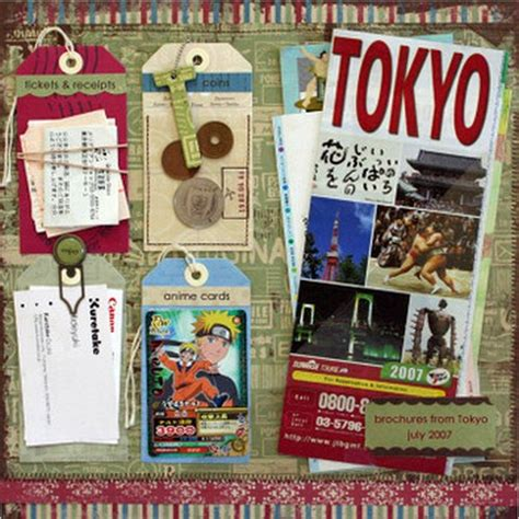 scrapbook layout travel scrapbook ideas for summer trips