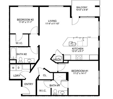 Cooper Floor Plans by New Luxury Apartments In Hamilton Oh The Marcum
