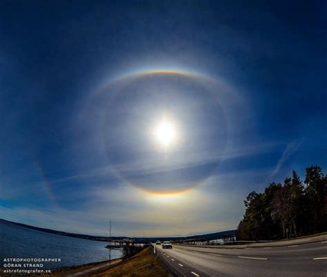 the halos why a halo around the sun or moon space earthsky