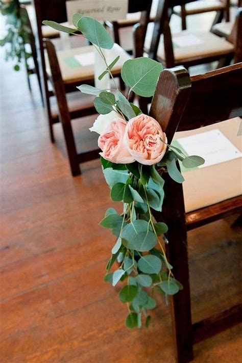 awesome wedding chair decoration ideas  ceremony