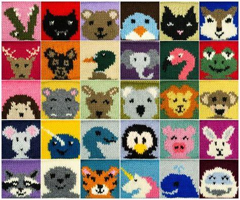 printable animal knitting patterns animals julie the knits