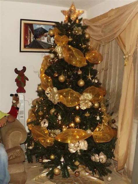 decoracion de arbol de navidad con cintas imagenes arboles de navidad decorados imagui