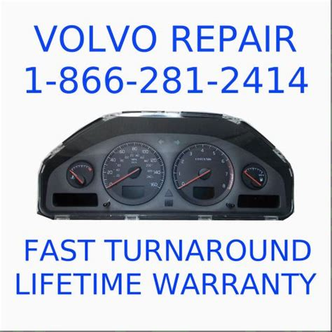 how to fix cars 2006 volvo s60 instrument cluster buy volvo instrument cluster dim repair rebuild s60 v70 s80 xc90 warranty motorcycle in