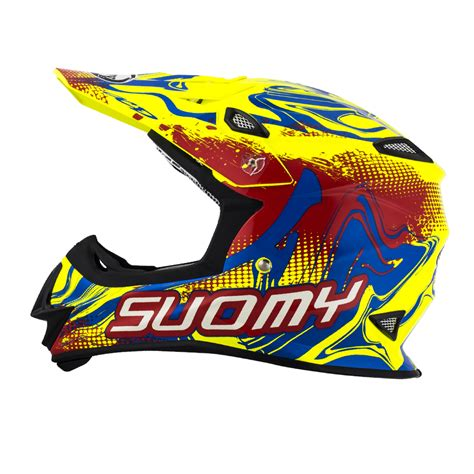 suomy motocross helmet suomy mx helm mr jump graffiti rot gelb mx shop rhein