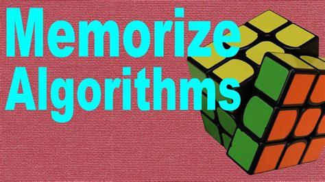 tutorial for rubik s cube beginners how to memorize rubik s cube algorithms beginner s