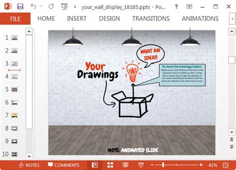 Graffiti Slide Design Fppt Graffiti Powerpoint Template