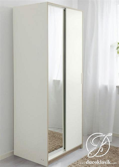 Lemari Pakaian Sliding Cermin jual lemari pakaian sliding 2 pintu minimalis modern furniture duco klasik