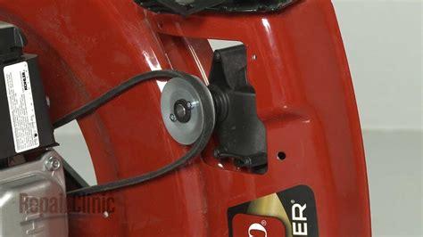 mower drive belt replacement toro lawn mower repair