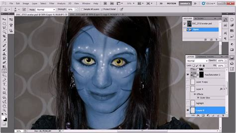 tutorial photoshop cs5 avatar tutorial how to avatar yourself how to make caricature