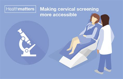 health matters health matters cervical screening more accessible