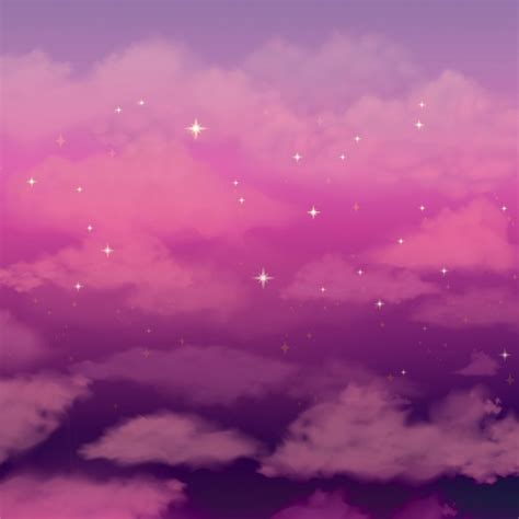 wallpaper pink sky beautiful background with pink clouds sky vector free