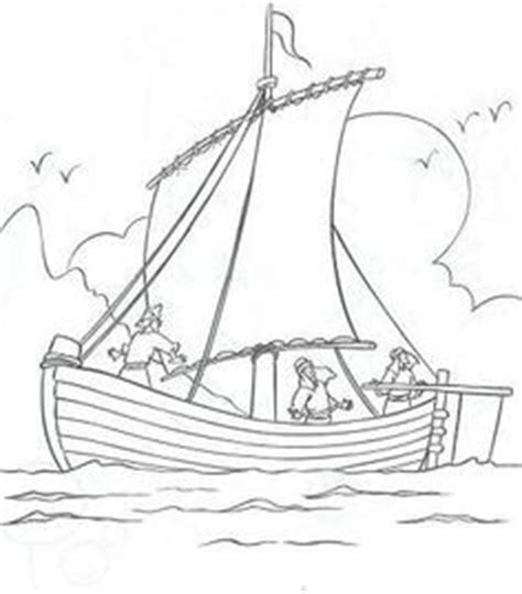 coloring pages jesus in the boat 1000 images about sunday school on bible