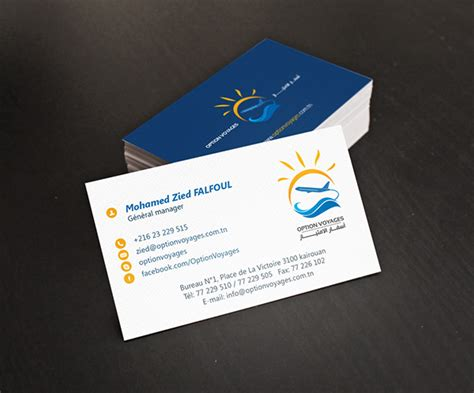 Travel Business Cards