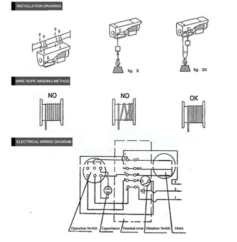 ac hoist wiring diagram wiring diagram manual