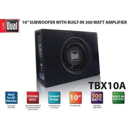 dual electronics tbxa   shallow high performance