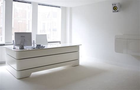bureau direction blanc bureau de direction rknl20 studio de cr 233 ation de meubles