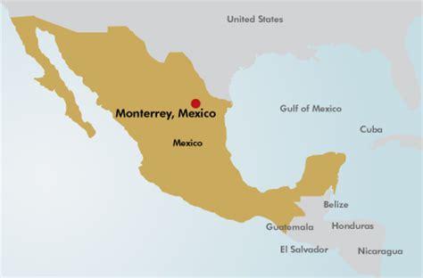 map of monterrey mexico monterrey mexico map mexico map