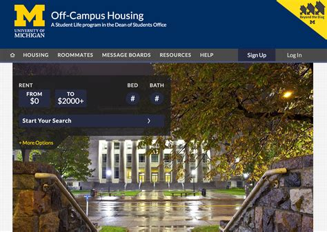 university of michigan housing off cus housing website launched greek life
