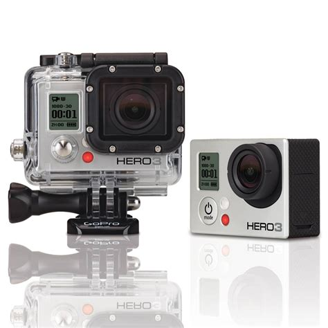 Gopro Gopro 3 Silver New gopro hero3 silver edition review small update big features the critic