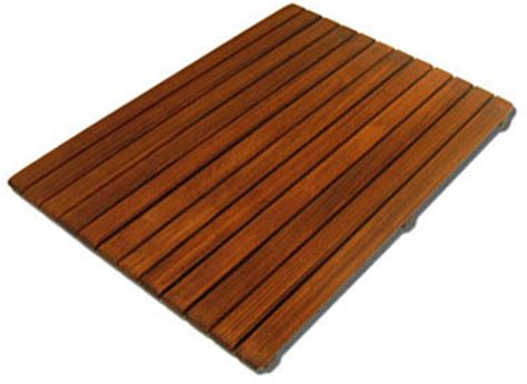 teak floor mats for your shower pool or steambath