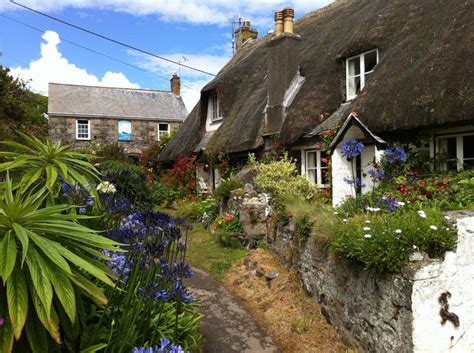 cornwall cottage cadgwith cottages cornwall jigsaw puzzle in