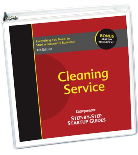 your own service start your own cleaning service 4th edition entrepreneur bookstore entrepreneur