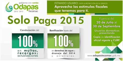 descuentos agua y predial tecamac el mexiquense hoy ayuntamiento de tec 225 mac ofrece programa
