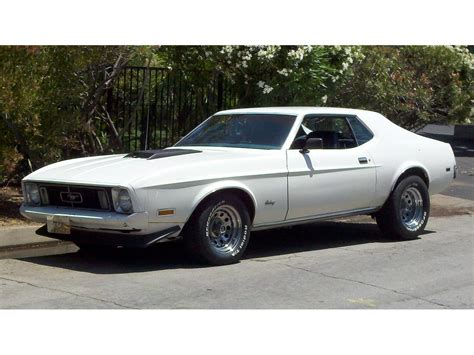 ford mustang 1973 1973 ford mustang for sale classiccars cc 898553