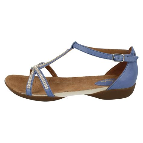 Sandal Wedges Ls08 Hitam 59 clarks t bar flat summer sandals raffi ebay