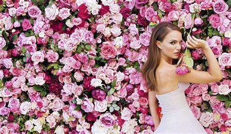 Natalie Flower natalie portman a flower among flowers