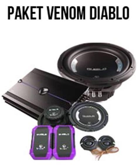 Speaker Coaxsial Venom Diablo paket audio venom diablo audio mobil venom bsd