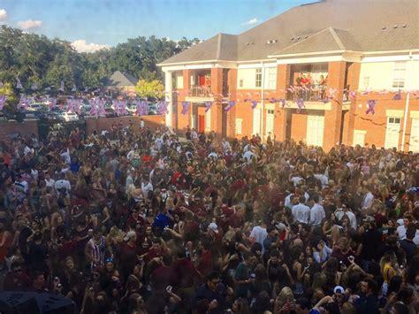 biggest fraternity houses total frat move tailgates at the biggest fraternity house in the nation