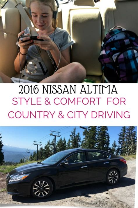 comfortable cars for road trips 2016 nissan altima review style and comfort for a family